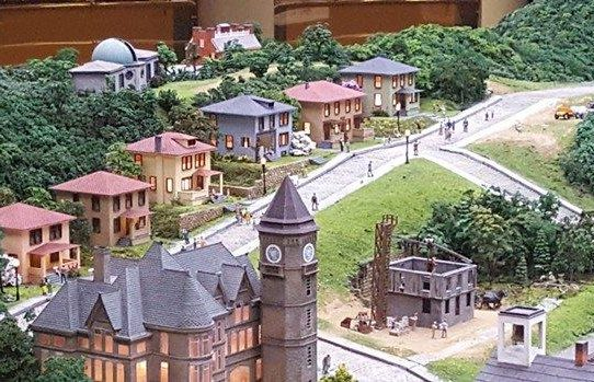 Image is of Donora's Cement City