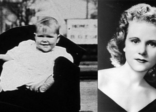 Image is of Viola Liuzzo as a toddler and as a young woman